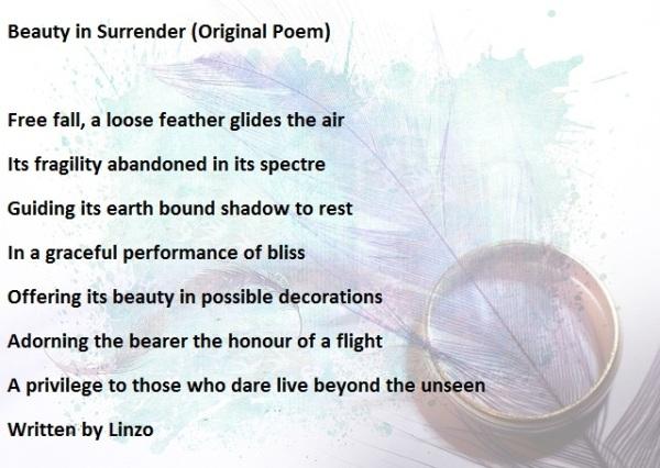 beauty in surrender