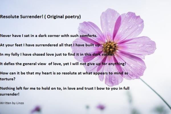 resolute surrender