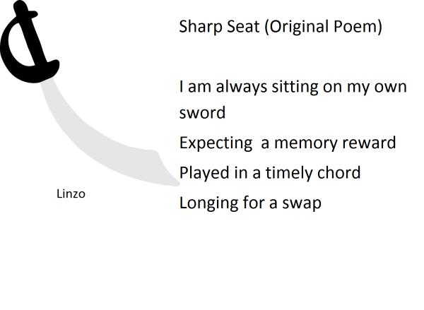 sharp seat